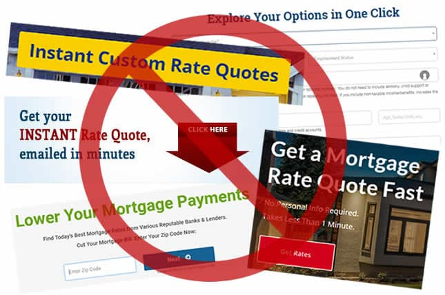 instant mortgage rate quote