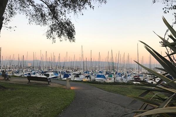Alameda California Marina