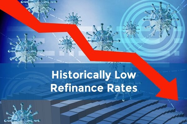 historically low refinance rates