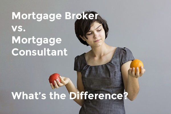 mortgage broker vs mortgage consultant