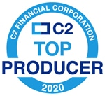 C2 Financial Corporation Top Producer 2020
