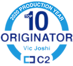 C2 Financial Top Originator Vic Joshi Mortgage