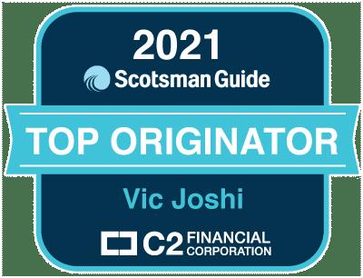 Scotsman 2021 Top Originator Vic Joshi C2 Financial