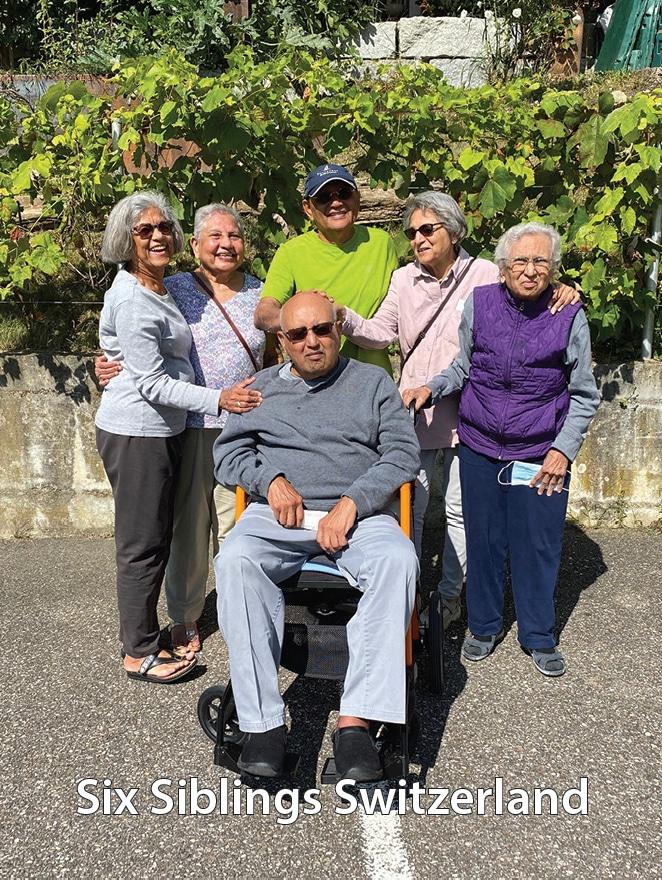 Relationships--Six siblings in Switzerland